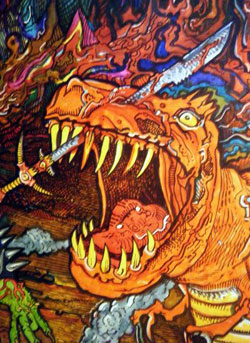 GorGor Hell Detail