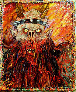 Oderus Burns in Hell
